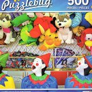Laughing Clown Game at the Carnival - 500 Piece Jigsaw Puzzle - Puzzlebug - p 005