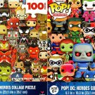 Pop - Marvel Heroes Collage Puzzle - 100 pieces Jigsaw Puzzle - (Set of 2)