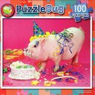 Party Pig - PuzzleBug - 100 Piece Jigsaw Puzzle v2