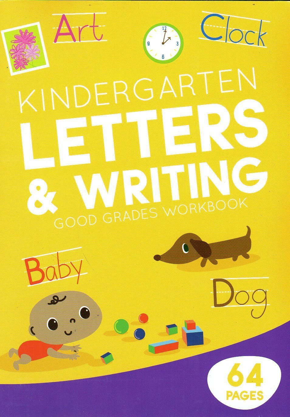 Educational Workbooks - Kindergarten - Letters & Writing - v3
