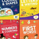 Educational Workbooks - Kindergarten - Set of 4 Books