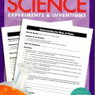 Science Experiments and Inventions - Worksheets Workbook - Grades 4 - 6