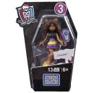 Monster High Mega Bloks Collection 3 Clawdeen Wolf figure