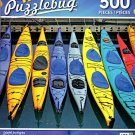 Colorful Sea Kayaks - 500 Piece Jigsaw Puzzle - Puzzlebug - p 006
