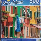 Puzzlebug The Colorful Houses Of Burano, Venice, Italy Jigsaw Puzzle 500 pieces