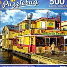 Floating Mexican Restaurant, Fisherman\s Wharf, BC Canada - 500 Piece Jigsaw Puzzle