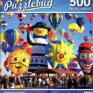Fun Shaped Hot Air Balloons - 500 Piece Jigsaw Puzzle - Puzzlebug - p 006