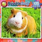Cute Guinea Pig - PuzzleBug - 100 Piece Jigsaw Puzzle