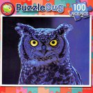 Moonlight Owl - PuzzleBug - 100 Piece Jigsaw Puzzle