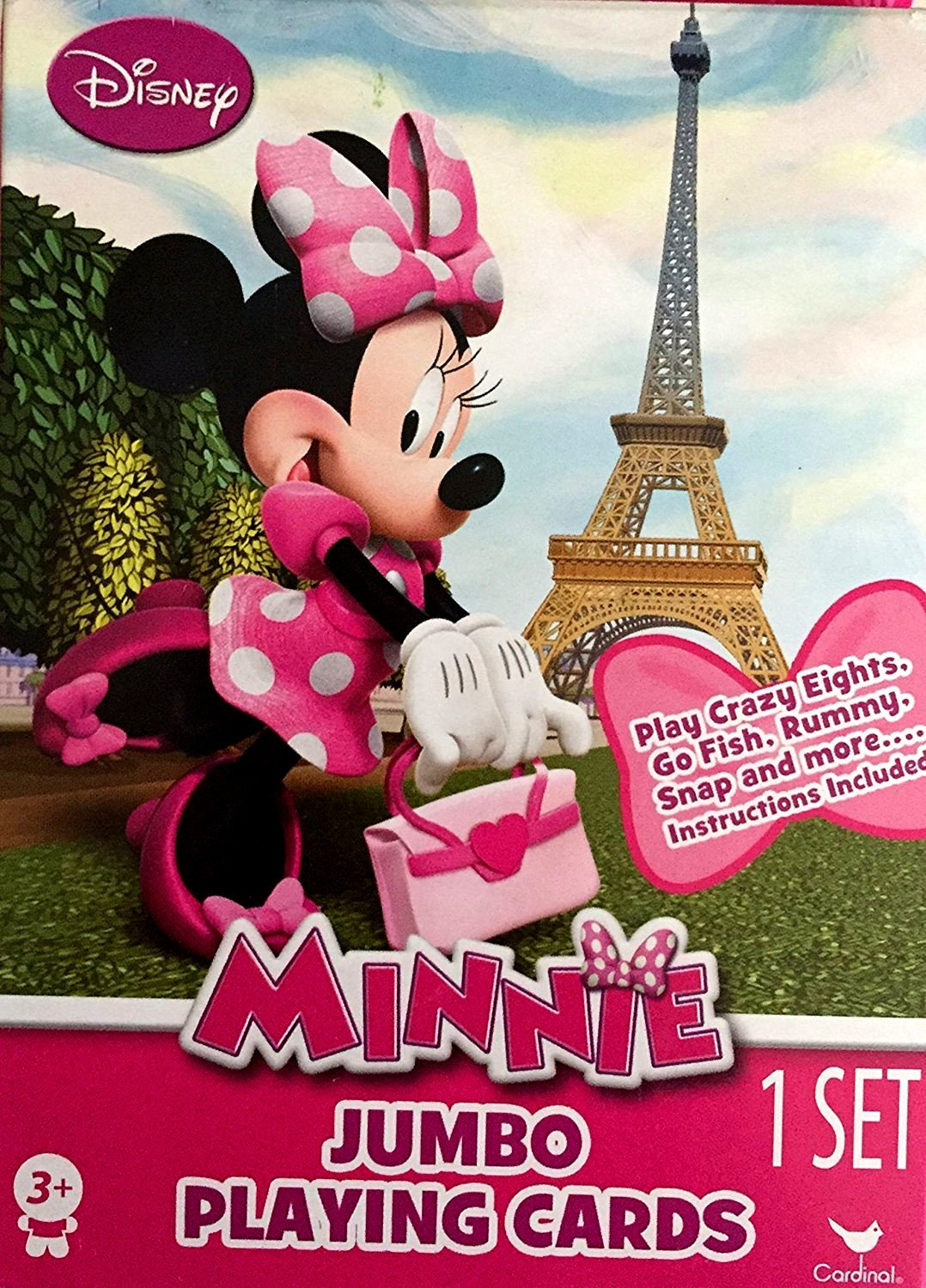 Minnie Mouse Jumbo Playing Cards 1 Set