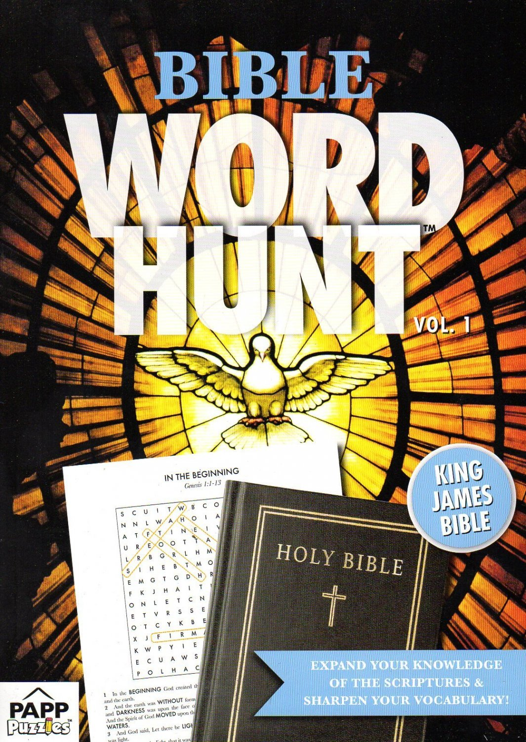 Bible Word Hunt - King James Bible - (2018) - Vol.1