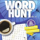 Large Print Word Hunt - All New Puzzles - (2018) - Vol.47