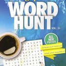 Large Print Word Hunt - All New Puzzles - (2018) - Vol.51