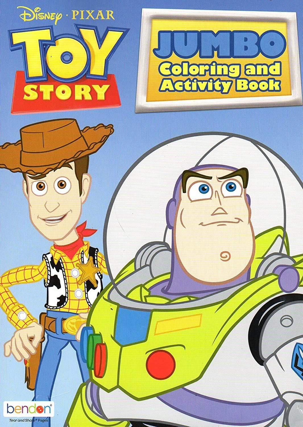 Disney Toy Story Jumbo Coloring & Activity Book