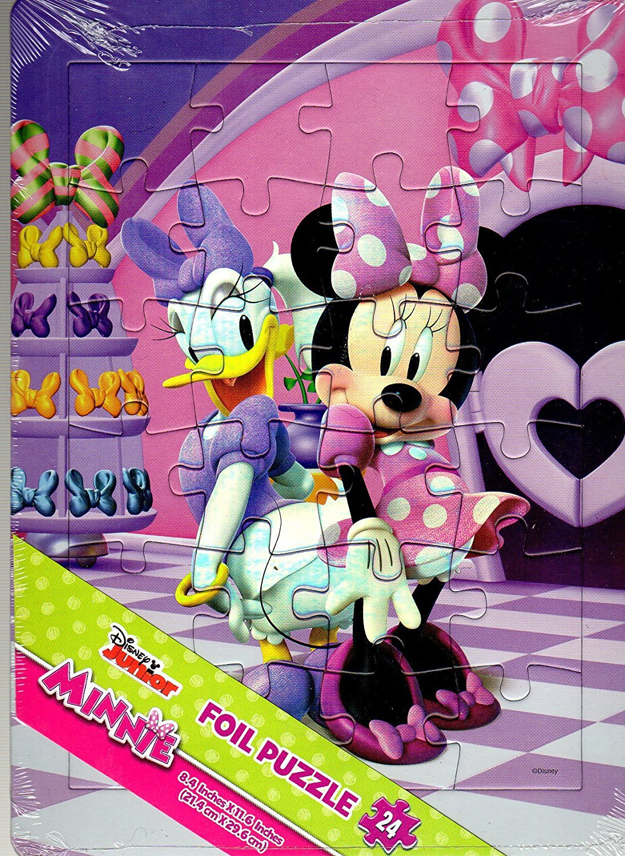 Disney Junior - Minnie - 24 Pieces Foil Jigsaw Puzzle - v1