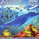 Dolphin Delight - 500 Piece Jigsaw Puzzle - Puzzlebug - p 004