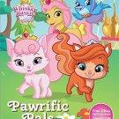 Disney Whisker Haven Pawriffic Pals (Sticker Scenes & Coloring Book) by Parragon Books Ltd