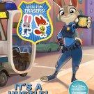 Disney Zootopia Activity Book with Eraser