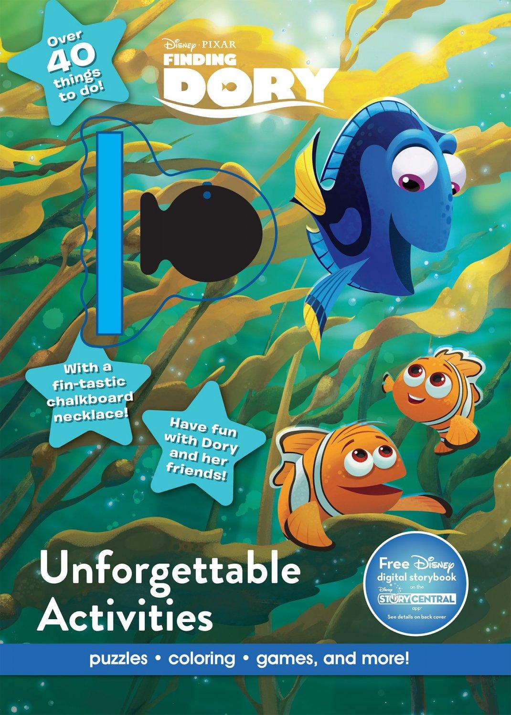 Disney Pixar Finding Dory Unforgettable Activities