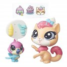 Littlest Pet Shop Pet Pawsabilities Sugar Sprinkles and Hummy Jewelfeather