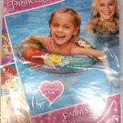 "What Kids Want Disney Princess - Ariel, Belle, Rapunzel - 17.5"" Swim Ring - Includes Repair Kit"
