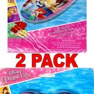 What Kids Want Disney Princess Swim Goggles & Surf Rider - Includes Repair Kit, (2 Pack)