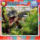 Trex On the Prowl - 100 Piece Jigsaw Puzzle
