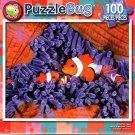 Clownfish Family - 100 Piece Jigsaw Puzzle