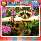 Puzzlebug Baby Raccoon in a Tree 100 Piece Jigsaw Puzzle - p 008
