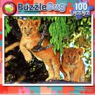 Puzzlebug Cute Lion Cub in a Tree 100 Piece Jigsaw Puzzle - p 008