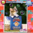 Puzzlebug Kitten and Bubbles 100 Piece Jigsaw Puzzle - p 008