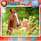 Puzzlebug Foal in the Flowers 100 Piece Jigsaw Puzzle - p 008