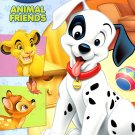 Disney Animal Friends Big Fun Book to Color - Play Date