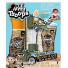 Lil' Army Troops Operation Groom & Go! 4 Piece Bath Time Play Shave Set