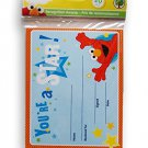"Sesame Street Elmo Recognition Awards Certificates ""You're a Star"" 20 count"