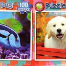 Blue Tang Fish  - Besties - 100 Piece Jigsaw Puzzle SET of 2