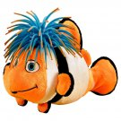 Zibbies for Pets Bubblez Plush Toy with Crazy Hair and Squeaker, 10-Inch