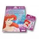 Disney Princess Themed Addition and Subtraction Bundle - Workbook and Flashcards
