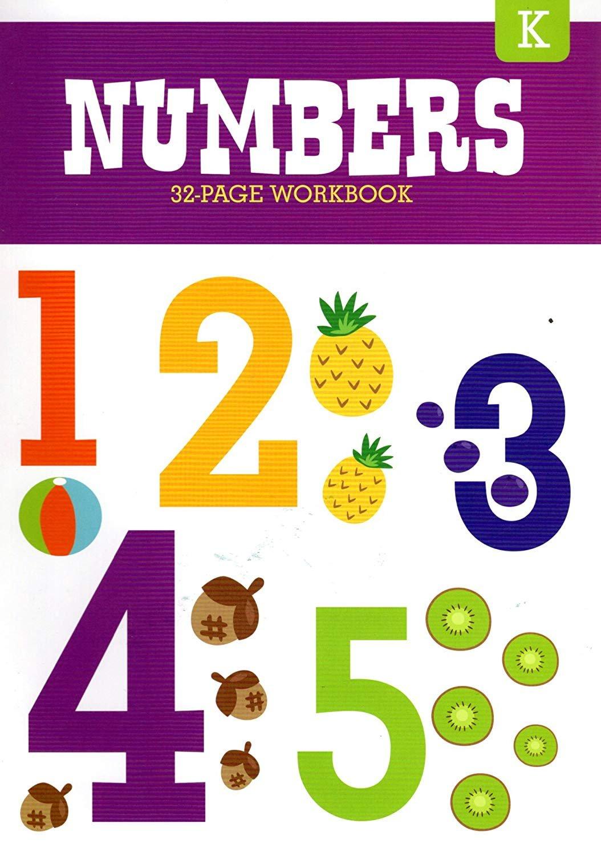 Educational Workbooks Kindergarten - Numbers