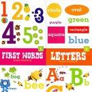 Educational Workbooks Kindergarten - 4 Pack