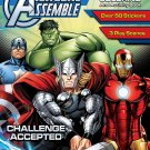 Bendon 55022 Marvel Avengers Sticker Scene Plus Coloring and Activity Book