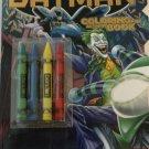 Batman Coloring & Activity Book With Crayons