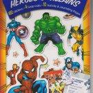 Marvel Heroes & Villains Sticker Adventure Book - Adventure Awaits!