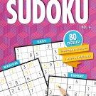 Large Print Sudoku Puzzle - Easy - Medium - Expert - All New Puzzles - (2018) - Vol.6