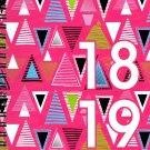 2018-2019 Student Planner Calendar (Geometric) -  (Spiral Bound) v3