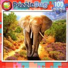 Puzzlebug Big African Elephant 100 Piece Jigsaw Puzzle
