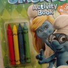 The Smurfs Activity Book With Over 30 Stickers & 4 Crayons