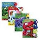 Learning Tab Books ~ Dinosaurs, Farm, Jungle & Reptiles