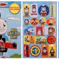 Thomas and Friends Color and Read Along Book with Stickers - All Set To Go!