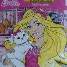 Barbie Color & Read Along Posh Pet Party (Stickers Inside)